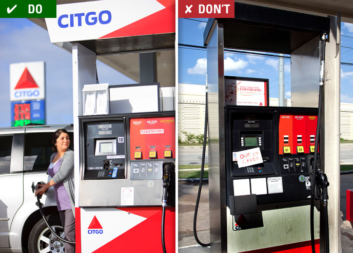 pilot gas station credit card application